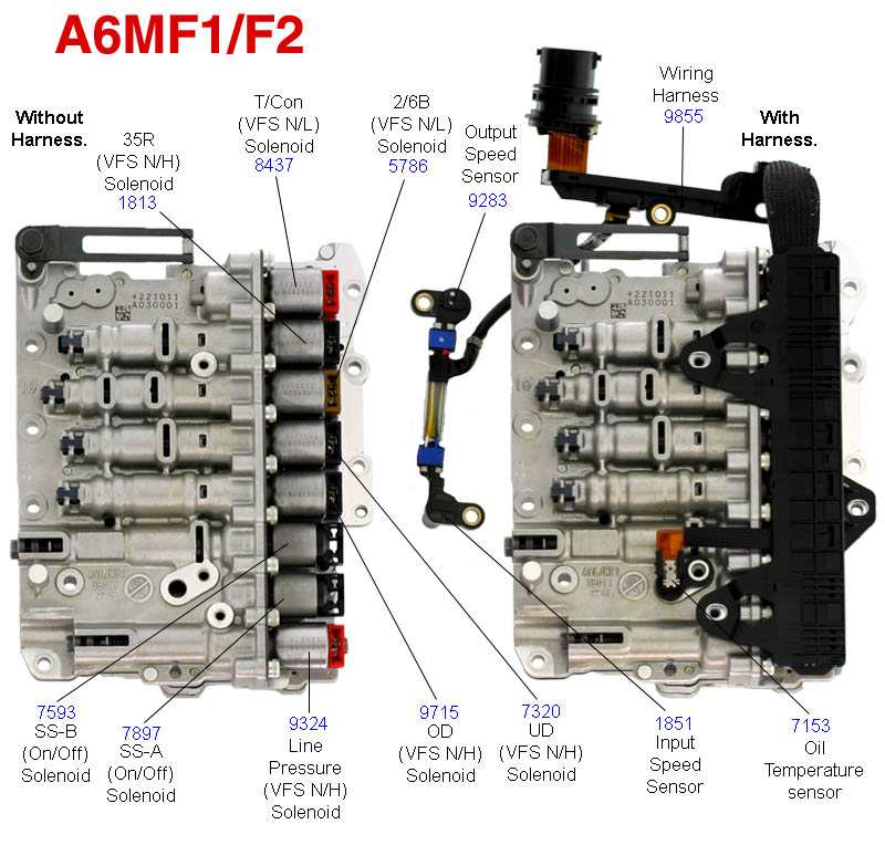6103 Auto Tranny Maintance 2 on kia optima parts diagram