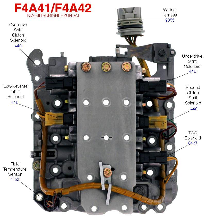 Акпп f4a42 ремонт своими руками